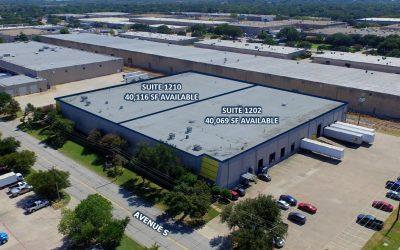 David Dunn CCIM, SIOR and Payne Pittman Sell 80,000 SF Building in Grand Prairie